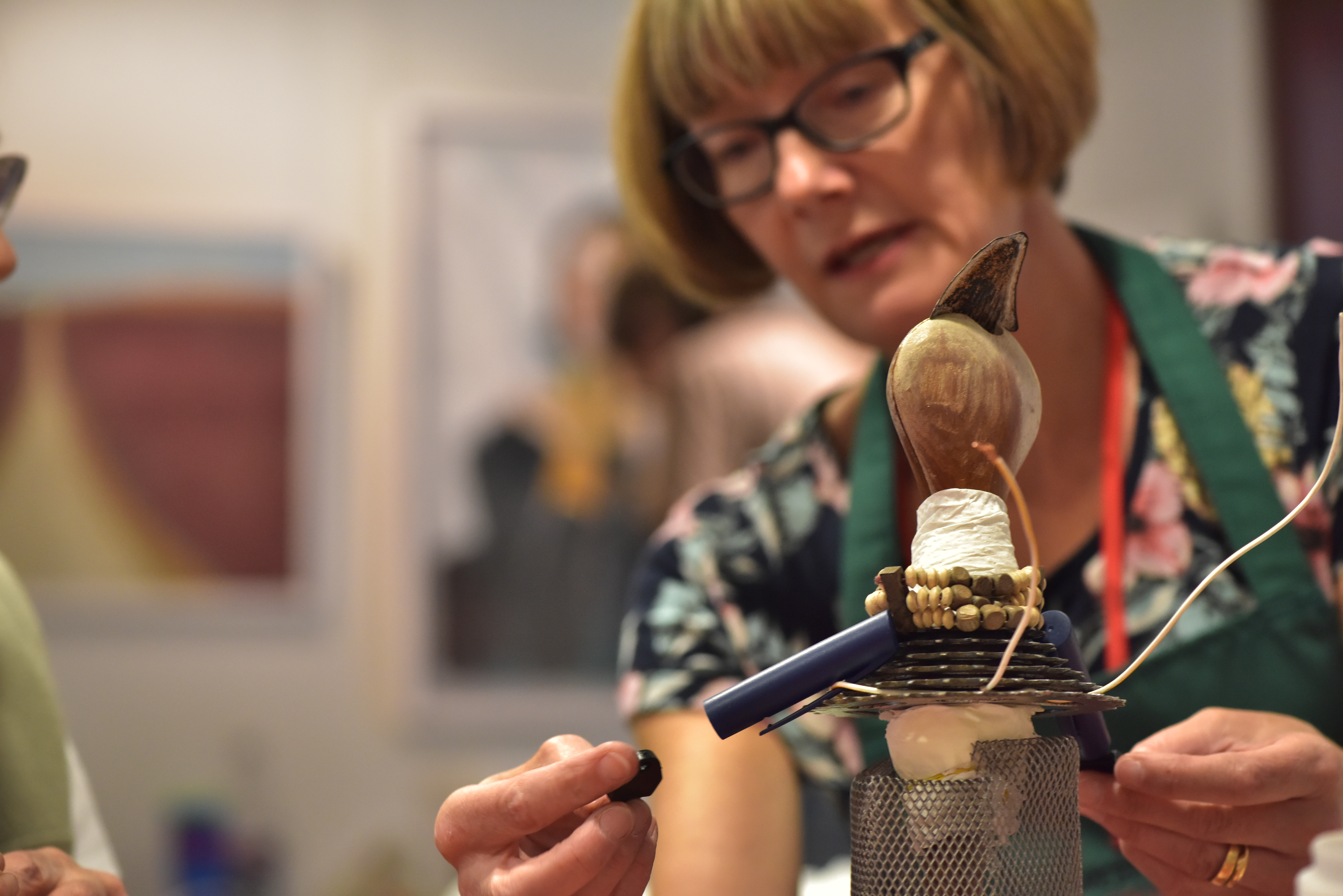 Step Up Workshop: Nek Chand, Image Courtesy of Andy Hood