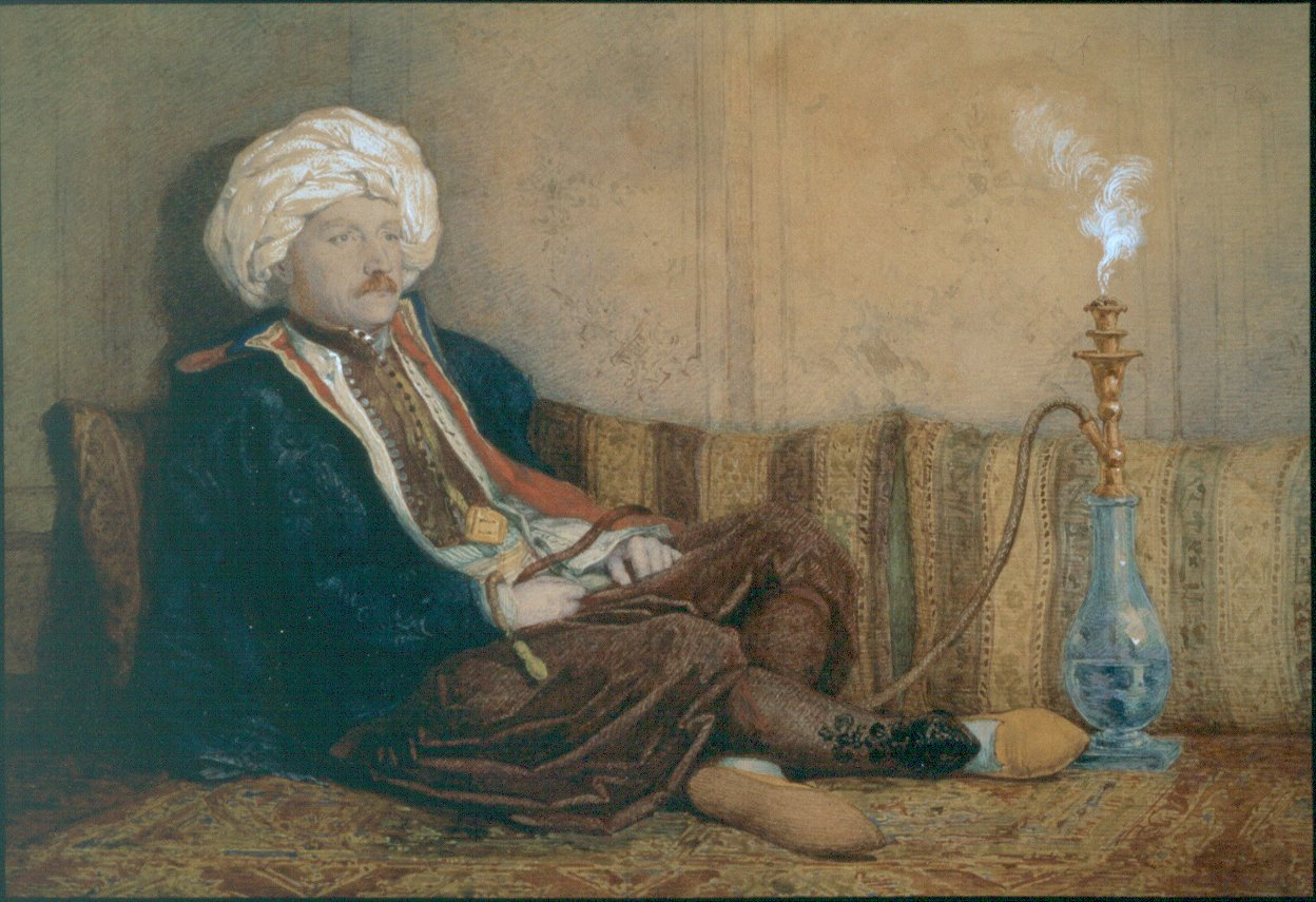 LDBTH774-Portrait of Sir Thomas Phillips in Turkish Dress (1842-3) (600 dpi)
